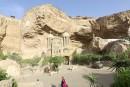 Au Caire, un artiste polonais sculpte les cavernes d'un monastère