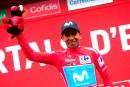 Tour d'Espagne: Pogacar et Quintana triomphent sous la grêle