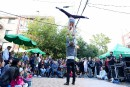 Party de ruelle au Festival des arts de ruelle