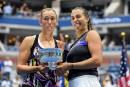 US Open : Mertens et Sabalenka triomphent en double