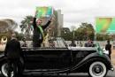 Un fils du président brésilien remet en question la démocratie