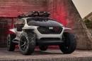 L'Audi AI:Trail, le tout-terrain pour ceux qui ne veulent pas conduire