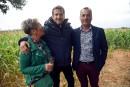 Crise paysanne: Canet et Deneuve portent la voix des agriculteurs