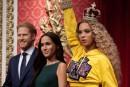 Beyoncé entre au musée de cire... à la place de la reine d'Angleterre