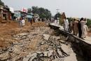 Séisme au Pakistan: 38 morts et d'importants dégâts matériels