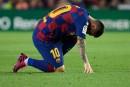 Messi a subi une élongation à une cuisse