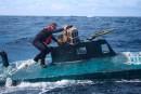 Cinq tonnes de cocaïne saisies à bord d'un sous-marin artisanal