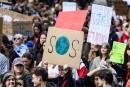 Grève mondiale pour le climat: les déplacements chamboulés àMontréal