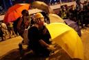 Les Hongkongais marquent, certains violemment, l'anniversaire des «Parapluies»