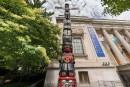 OEuvre d'art vandalisée devant le Musée des beaux-arts de Montréal