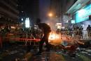 Hong Kong: affrontements à deux jours du 70eanniversaire de la Chine communiste