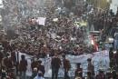 Des milliers d'étudiants manifestent en Indonésie