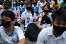 LaPresse à HongKong: desopposants augouvernement sousforte pression