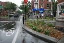 Vers une multiplication des saillies de trottoir au centre-ville