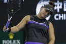 Première défaite en 18matchs pour Bianca Andreescu