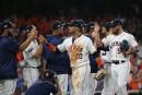 Les Astros dominent les Rays lors du premier match