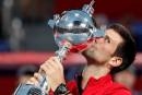 Novak Djokovic s'impose à Tokyo