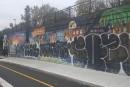 Une murale citoyenne vandalisée dans Pointe-Saint-Charles
