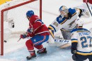 Blues 3- Canadien 6 (pointage final)
