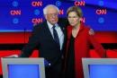 Sanders et Warren ont plus d'argent que les autres