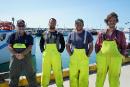 Les quatre pêcheurs de La course folle : Julien Boudreau,... | 4 février 2020