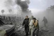 Raids aériens sur Gaza