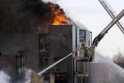Incendie au Faubourg Contrecoeur
