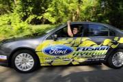 Ford Fusion: 2327 km avec un plein d'essence