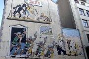 Les murs bd à Bruxelles