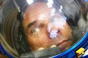 Guy Laliberté dans l'espace