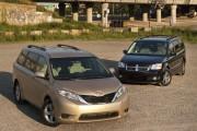 Dodge Grand Caravan-Toyota Sienna: Elles sont de retour!