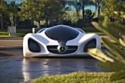 Mercedes présente sa voiture bio et futuriste