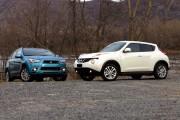 Nissan Juke-Mitsubishi RVR: Affrontement entre deux formats compacts
