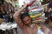 Le marché Khan Al-Khalili, au Caire