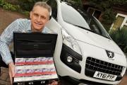 Peugeot lui offre un vol dans l'espace; il préfère rénover la cuisine