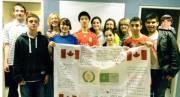 Des élèves d'Ottawa à Vimy