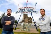 Sur la route de l'Alaska