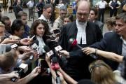 La première présence en cour de Luka Rocco Magnotta n'aura duré...