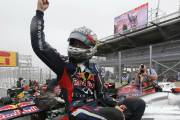 Trois en trois pour Sebastian Vettel