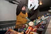Fructueuse collecte de denrées