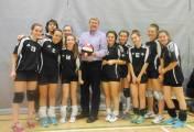 Première place à un tournoi de volley-ball