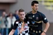 Des pilotes de F1 battus au soccer par l'équipe Djokovic