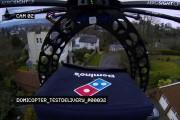 Pizza livrée par drone: la fin de l'auto de livraison?
