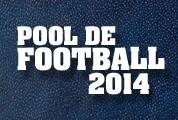 Pool de football 2014