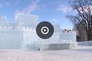 Le palais de Bonhomme construit en un temps record!