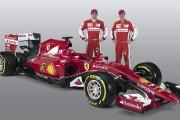 Ferrari dévoile la nouvelle SF15-T de Vettel et Räikkönen