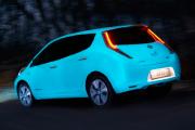 Nissan transforme sa Leaf en luciole