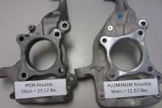 Aluminium: le poids divisé par deux