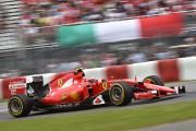 Ferrari au pied du podium