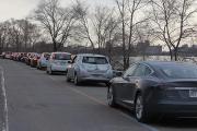Record Guinness de voitures électriques à Montréal